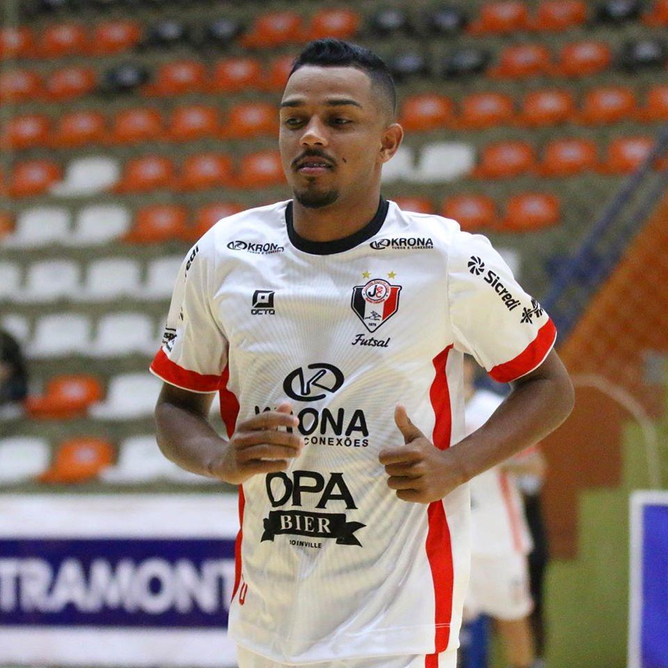 Crédito: Juliano Schmidt - Igor Carioca, atleta do Joinville