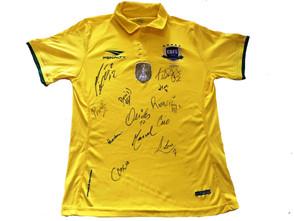 FTFS promove ação solidária e sorteia camisa Oficial da Seleção Brasileira autografada