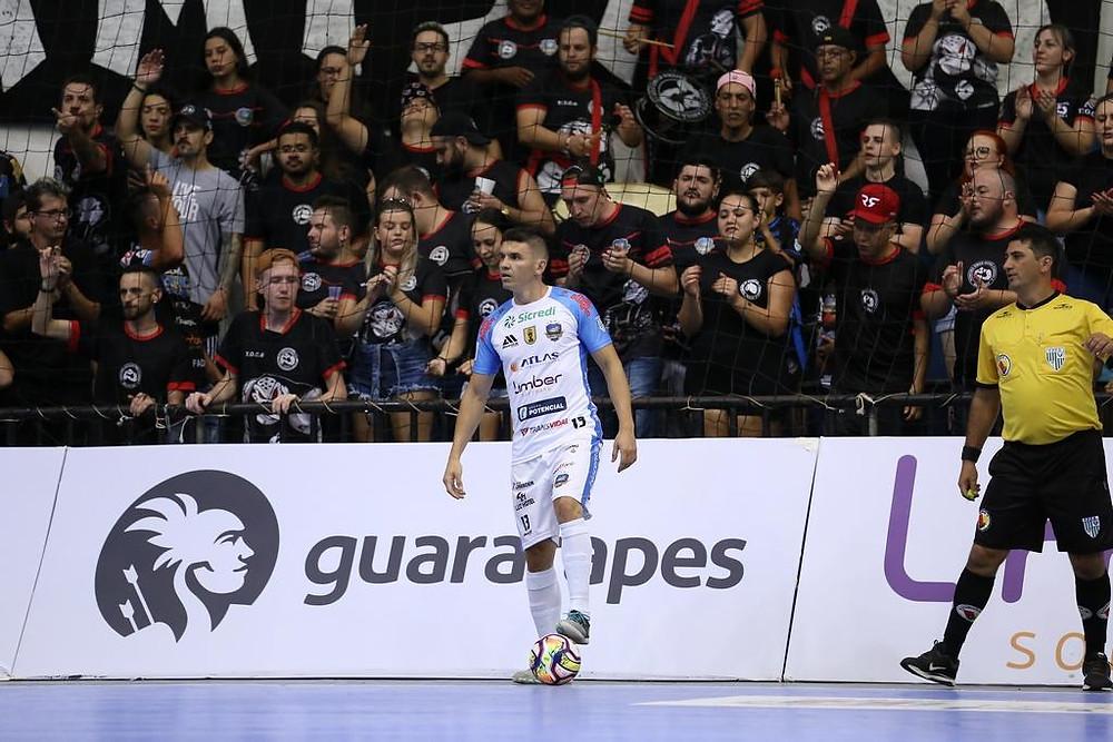 Crédito: Mauricio Moreira - Vitor Hugo vinha defendendo o Pato na temporada 2020