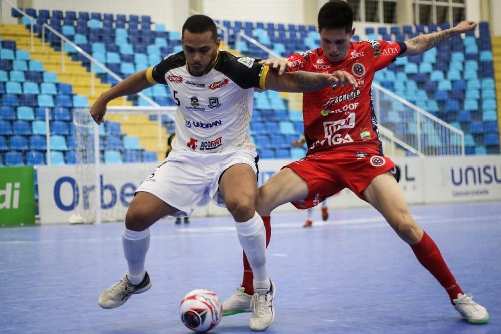 Crédito: Leonardo Hubbe - Na Taça Brasil Sicredi, Juventude encarou adversários tradicionais do futsal nacional