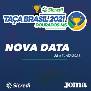 A CBFS altera a data da 48º Edição da Taça Brasil Sicredi de Futsal Masculino - Divisão Especial