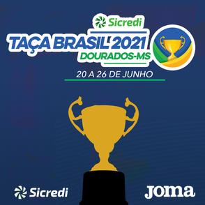 CBFS divulga grupos e tabela da 48º Edição da Taça Brasil Sicredi de Futsal Masculino