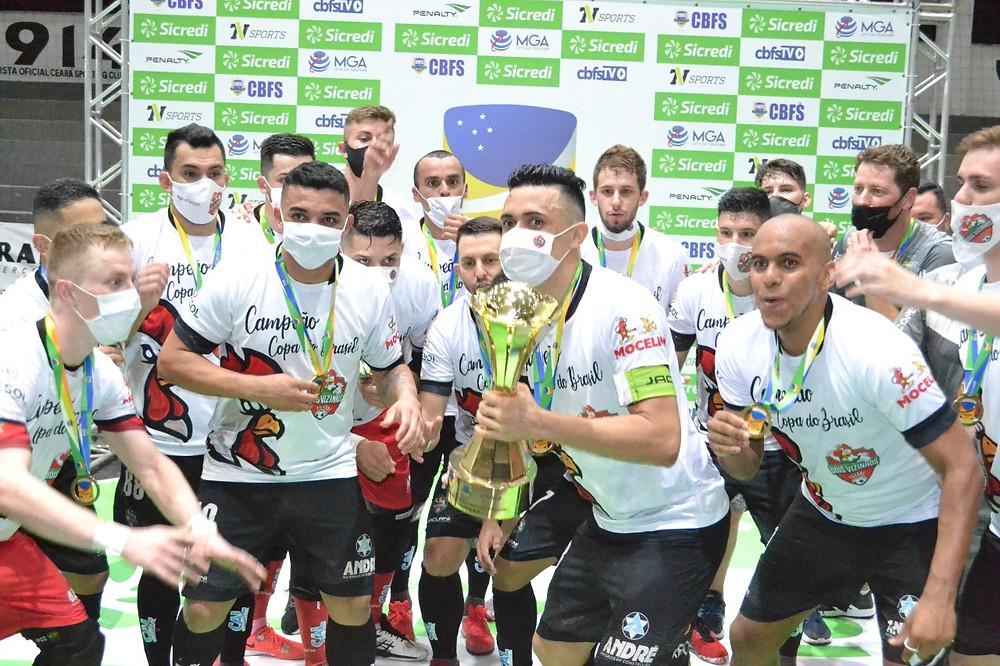 Crédito: Adolfo Pegoraro - Dois Vizinhos conquista o título da Copa do Brasil Sicredi.