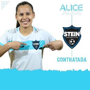 Stein Cascavel Futsal feminino anuncia a contratação da ala Alice