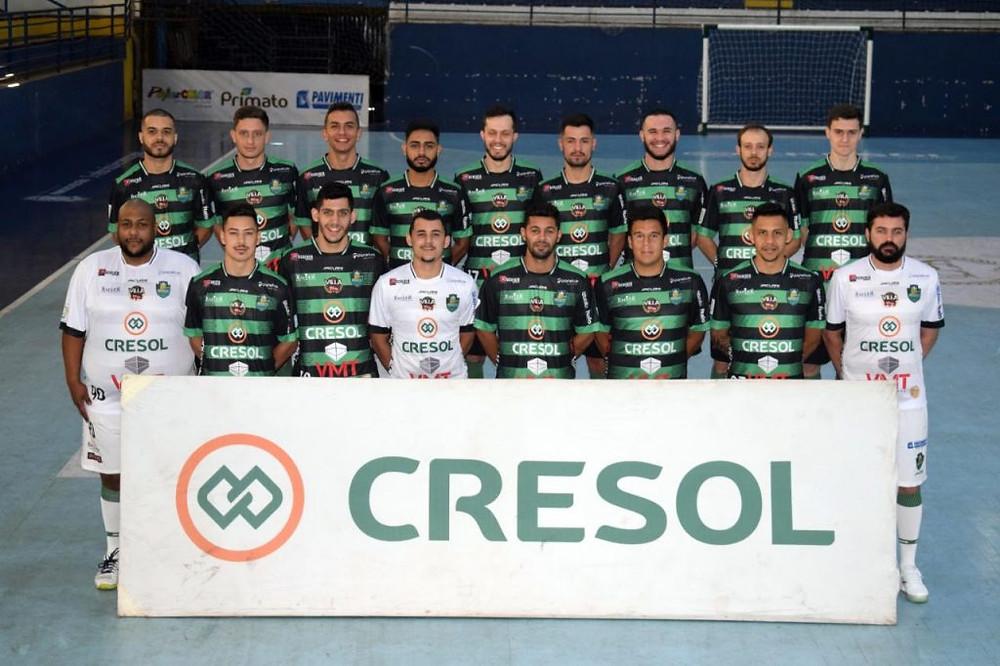 Crédito: Adolgo Pegoraro - Jogadores do Marreco estão focados na temporada