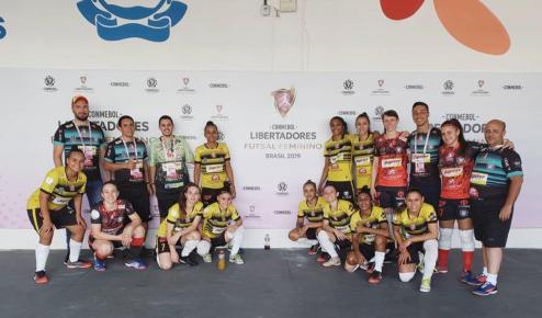 Crédito: Arquivo Pessoal = Cianorte Futsal são as atuais campeãs da Libertadores