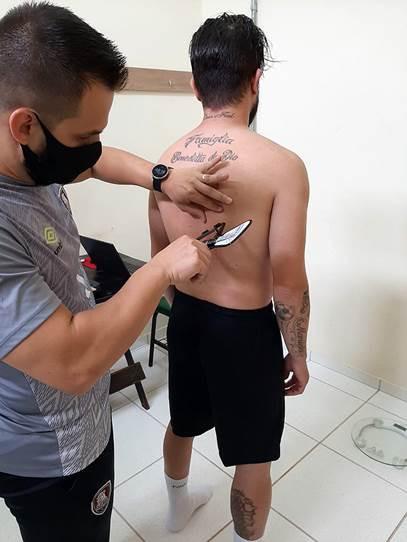 Crédito: Assessoria Campo Mourão - Atletas passaram por avaliação na reapresentação