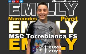 Emilly Marcondes ex São José, está se transferindo para Espanha