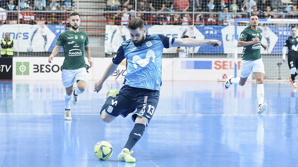 Crédito: Helen Boto - Gadeia, jogador da Movistar Inter