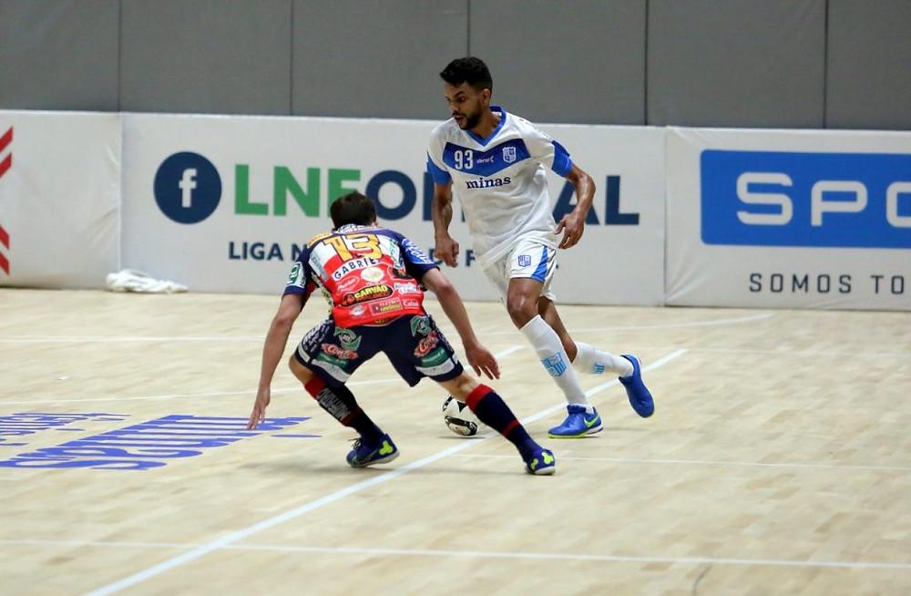 Crédito: Orlando Bento - Henrique defendeu o Minas nessa temporada