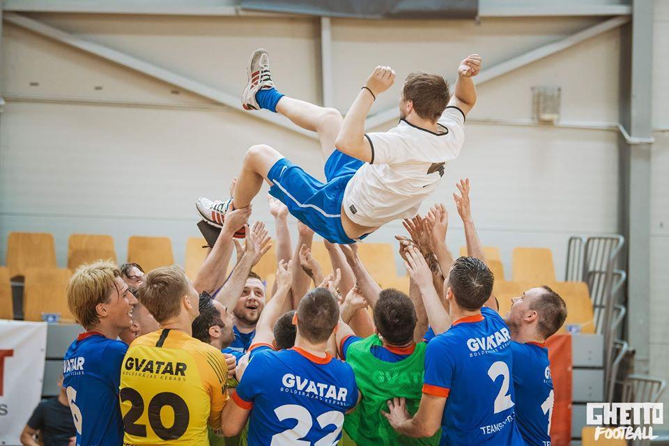 Crédito: Alex Puskins - Nikars Riga é campeão da Letônia mais uma vez