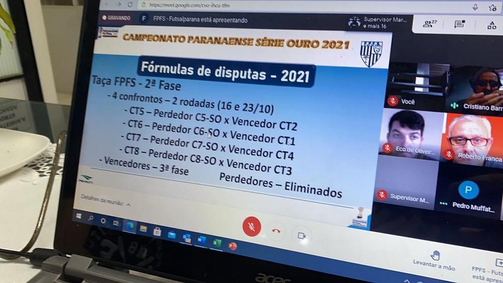 Crédito: Julio Cesar Alves - A reunião arbitral terça-feira e definiu a fórmula de disputa da competição.