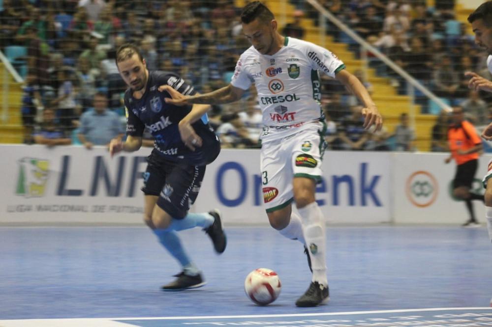 Crédito: Iully Ribeiro - Tubarão x Marreco fizeram um dos jogos mais disputados da LNF2019