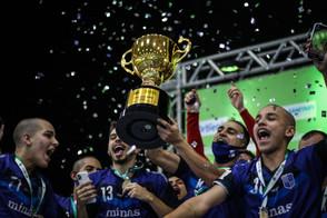 Minas Tênis Clube conquista a Taça Brasil Sicredi