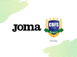 Joma é o novo patrocinador da Confederação Brasileira de Futsal (CBFS)