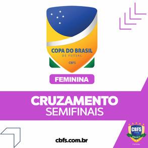 Definido as semifinais da Copa do Brasil Feminina de Futsal