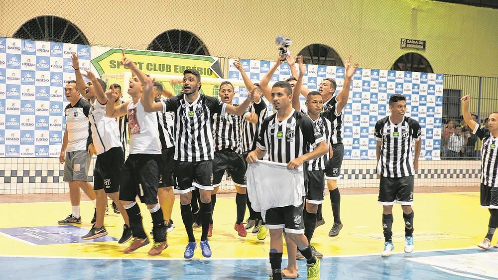 Crédito: José Leomar - Futsal do Ceará é o atual campeão cearense