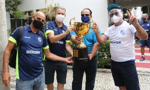 Troféu da Taça Brasil Sicredi chega em Minas