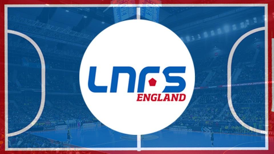 Crédito: Arte LNFS - O LNFS England nasce para promover o Futsal na Inglaterra.