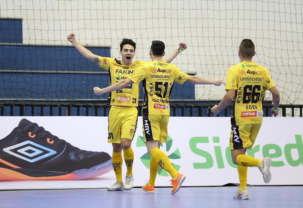 Crédito: Mauricio Moreira - Jaraguá estreia com vitória na LNF