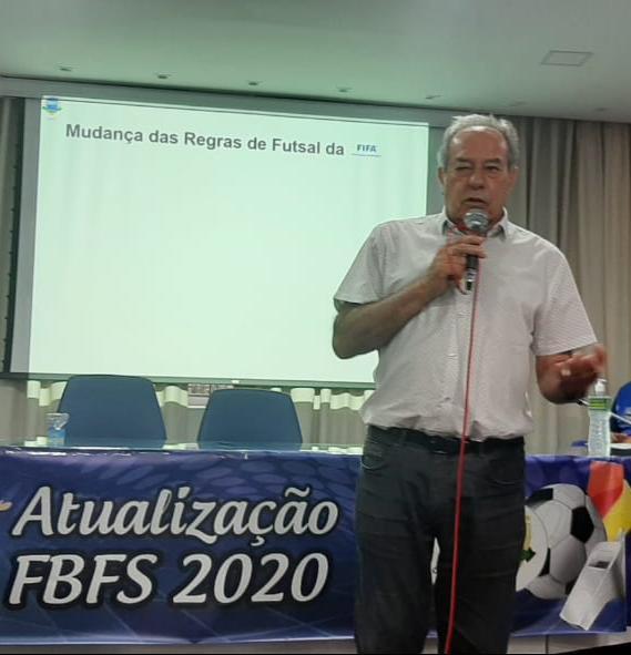 Crédito: Federação Bahiana de Futsal - Diretor de Arbitragem Paraguassu