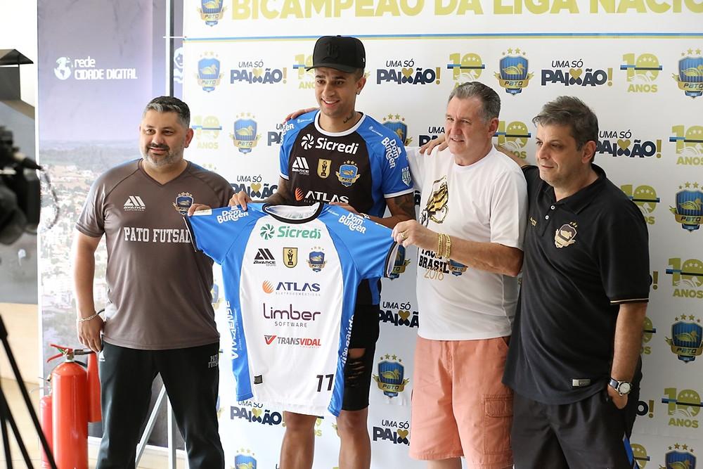 Crédito: Mauricio Moreira- Gérson Movio, Neguinho, Alcir Camozatto e Sérgio Lacerda