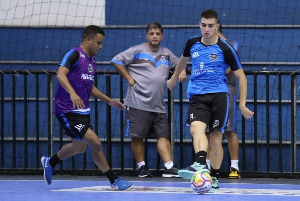 Crédito: Mauricio Moreira - Sérgio em treino ainda antes da pandemia