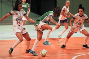 A bola vai rolar! Clubes de SC se preparam para a estreia do Novo Futsal Feminino Brasil