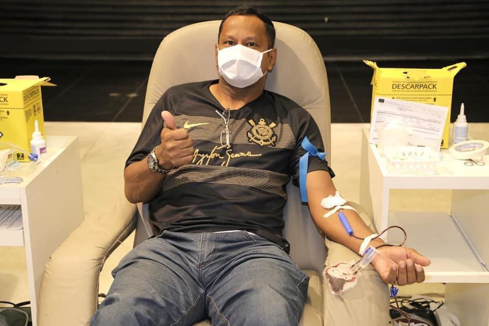 Crédito: Manoel Idalgo - Em 12 edições, clube já arrecadou cerca de 60 mil bolsas de sangue