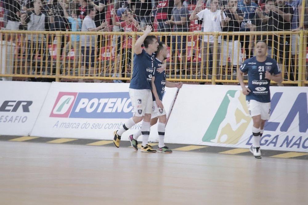 Crédito: Alisson Lima - Fabinho e Ernandes marcaram dois gols cada na partida decisiva das Oitavas da LNF2019