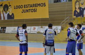 Joaçaba Futsal enfrenta o Pato nesta quarta-feira pela Liga Nacional