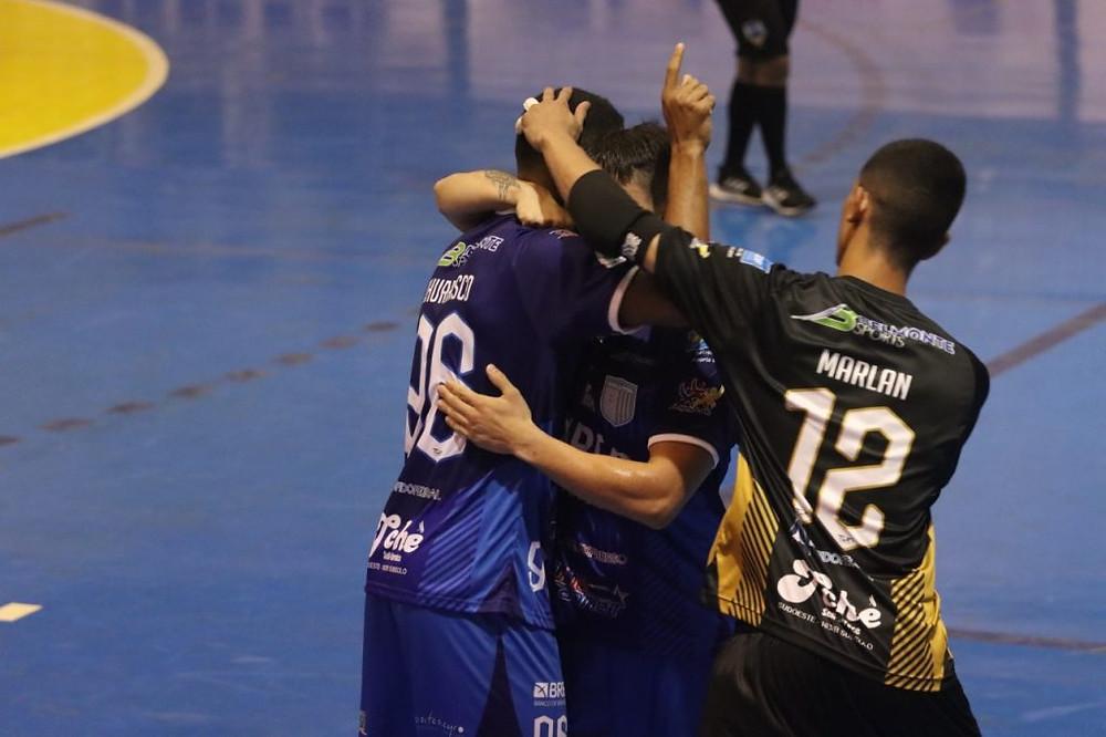 Crédito: Divulgação Brasília - Brasília vai jogar pela segunda vez a Liga Futsal. Equipe está na chave C