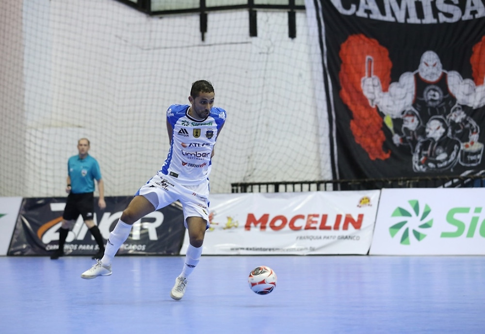 Crédito: Mauricio Moreira - Caio é um dos reforços do Pato para a Supercopa de Futsal