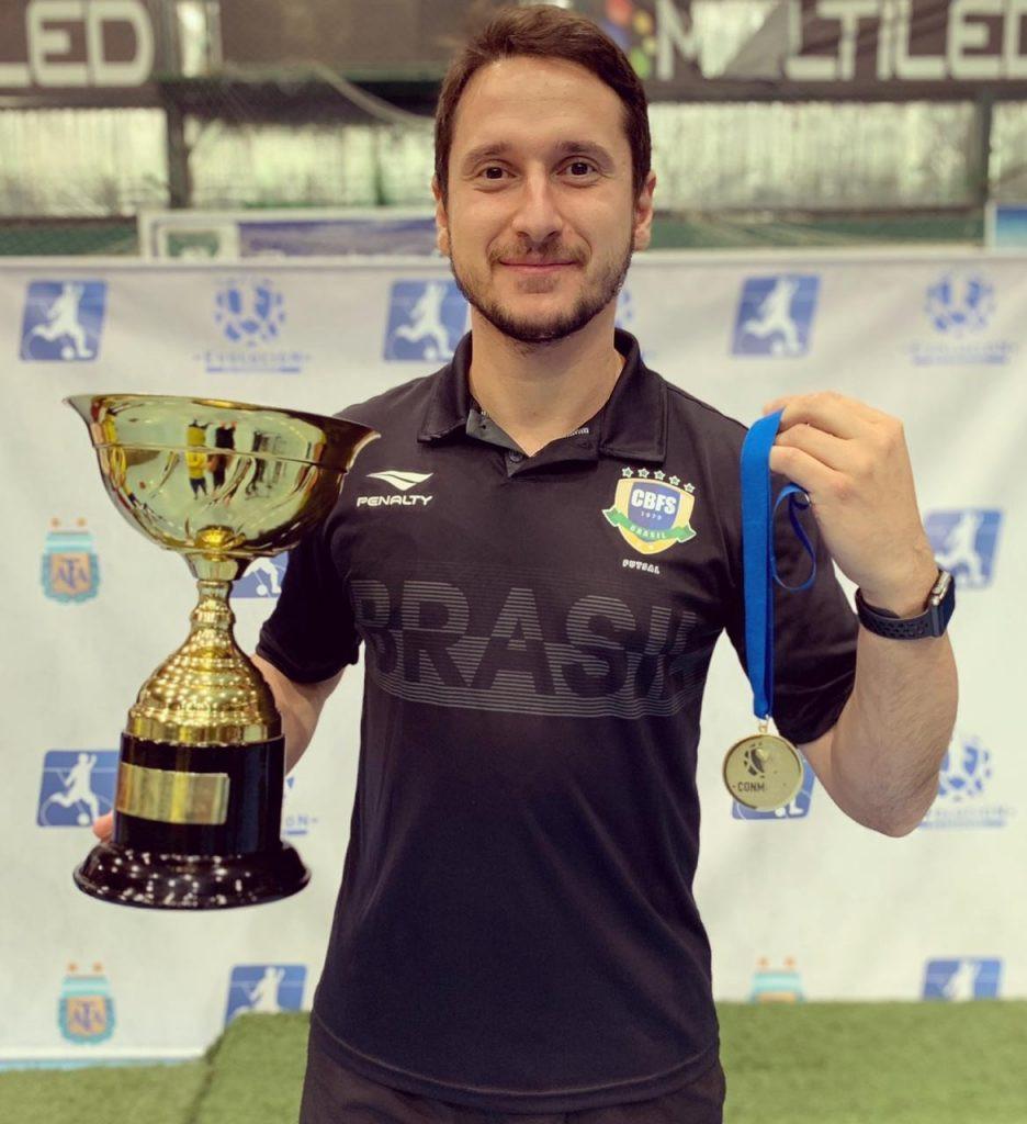 Crédito: Reprodução - Mauro Sandri, preparador físico da Seleção Brasileira e do Magnus
