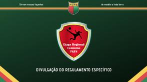 Etapas regionais do Futsal Feminino da FGFS - atualização no regulamento