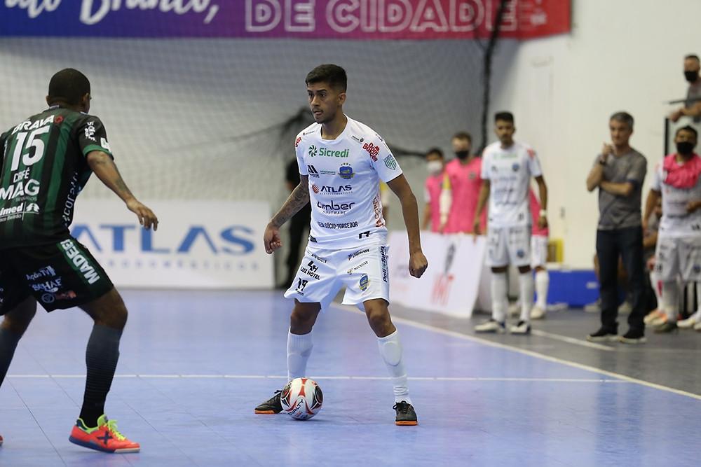 Crédito: Mauricio Moreira - Felipinho marcou um dos gols da vitória do Pato