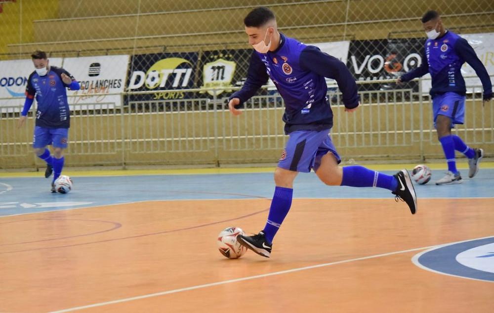 Crédito: Mayelle Hall - Joaçaba Futsal estreia nesta quinta na Série Ouro do Campeonato