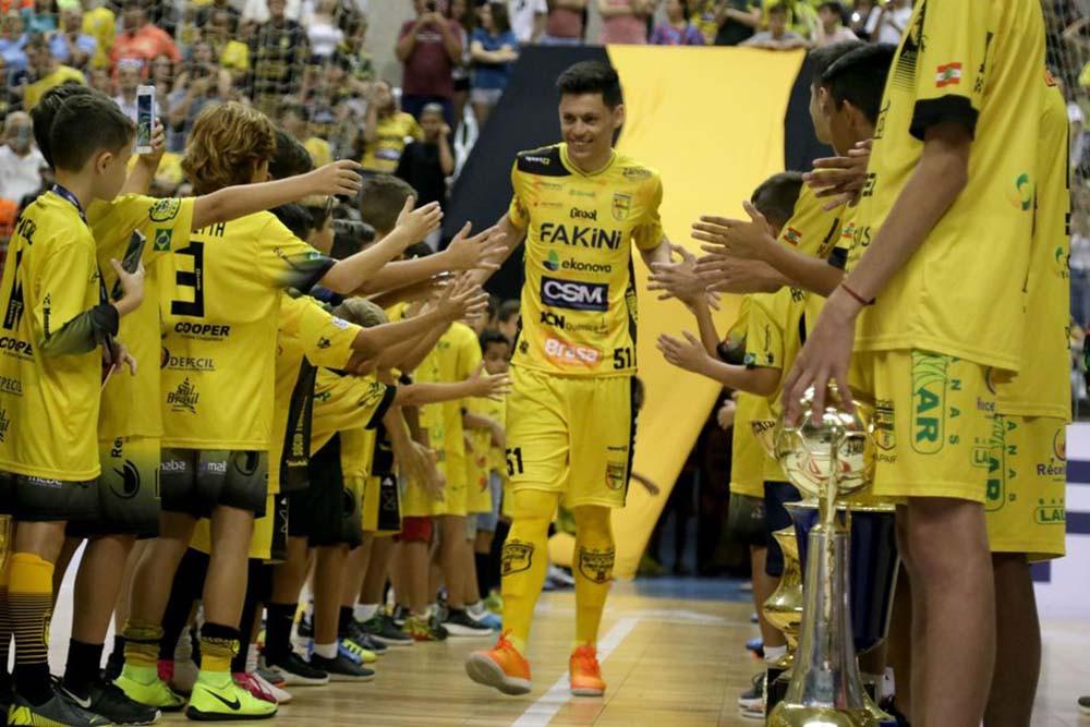 Crédito: Lucas Pavin - João Guilherme era um dos destaques do time do Jaraguá