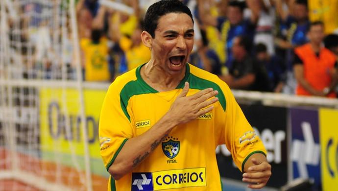 Crédito: Cristiano Borges - Valdin marcou 20 gols em uma partida pela Seleção Brasileira contra o Timor Leste
