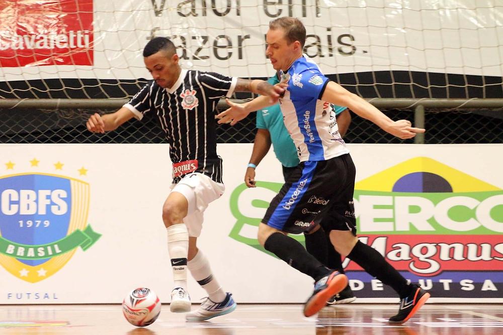 Crédito: Edson Castro - Pato Futsal volta a quadra amanhã contra o Atlântico.