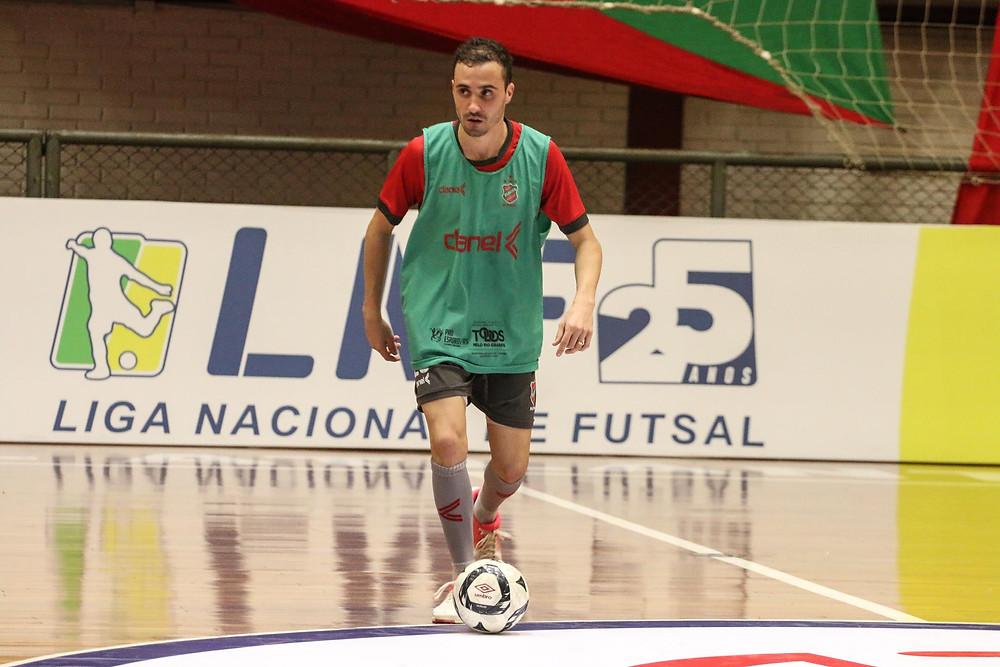 Crédito: Edson Castro - Equipe se prepara para a segunda partida da LNF