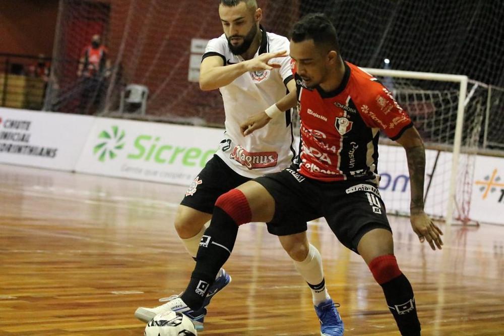 Crédito: Juliano Schmidt - Joinville e Corinthians fizeram jogo digno da tradição das duas equipes