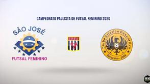 São José Futsal vence Desportivo Sorocaba, jogando em casa, pelo Estadual Feminino