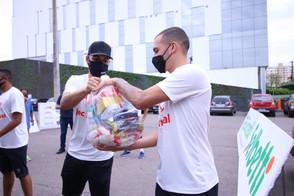 Joinville arrecada seis toneladas de alimentos