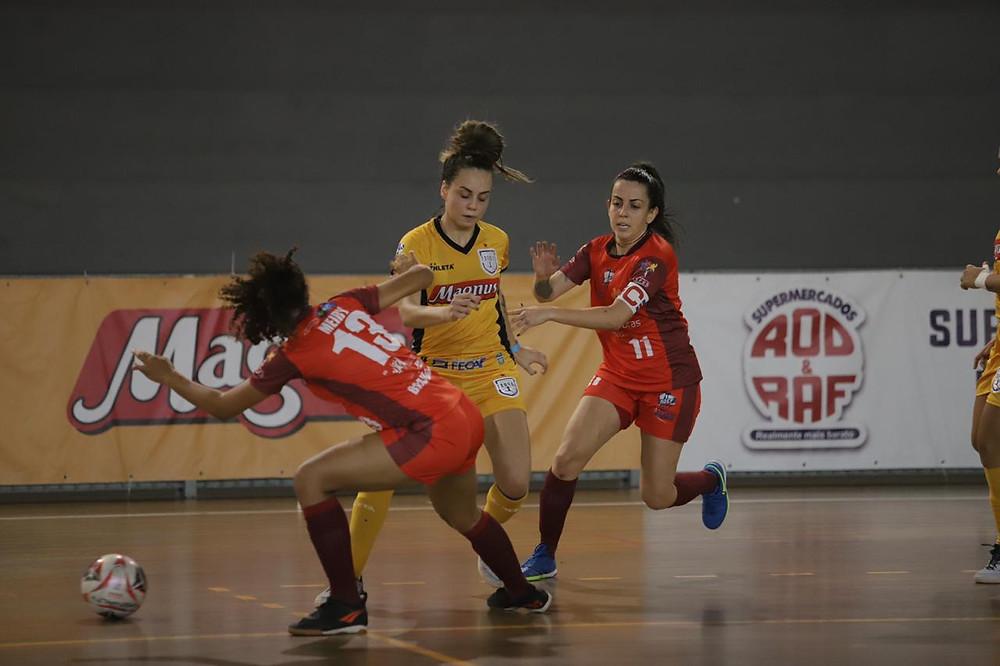Crédito: Yuri Gomes - Taboao Magnus leva vantagem do empate na segunda partida.