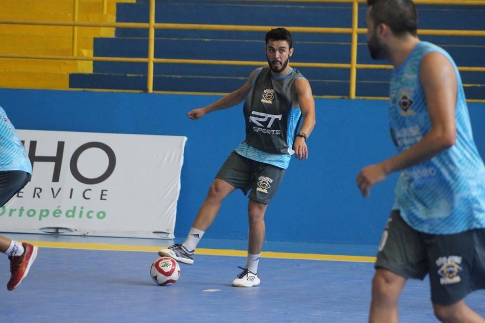 Crédito: Breno Domingues - Fabrício em treino do São José na pré-temporada