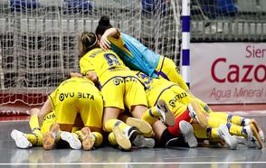 A final do futsal feminino contará com a equipe AD Alcorcón apôs a partida ser decidida nos pênaltis
