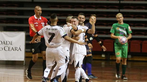 Crédito: NATINHO RODRIGUES - Ceará disputou, no sábado, a final do Campeonato Cearense de futsal.