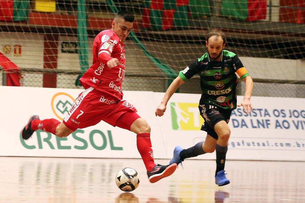 Crédito: Edson Castro - Atlântico estreou na LNF contra o Marreco.