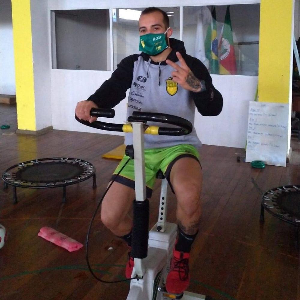 Crédito: Assessoria Imprensa Assoeva - Jogadores intensificaram preparação física nas últimas semanas